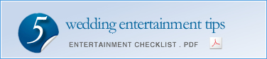 Entertainment Checklist